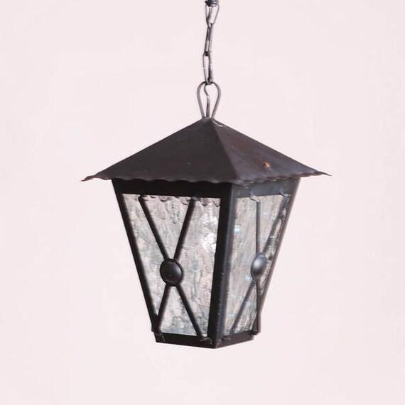 pendant light luminaire tole et fer forg lampadaire ext rieur. Black Bedroom Furniture Sets. Home Design Ideas