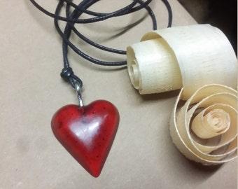 HeartOfResin pendant resin jewel