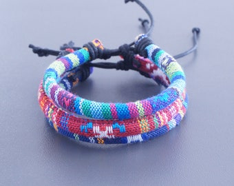3x Surfer Bracelet  - Beach Bracelet, Jewellery, Wristband, Wristlet, Sailor