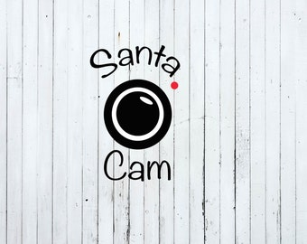 Christmas svg, santa cam svg, christmas svg files, santa svg file, santa cam cut files, funny christmas svg
