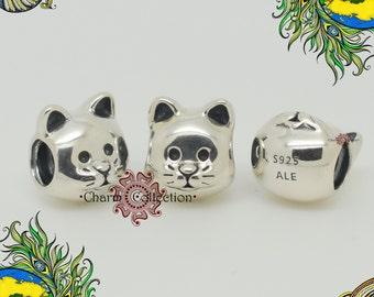 Genuine Pandora, Curious Cat Charm 791706