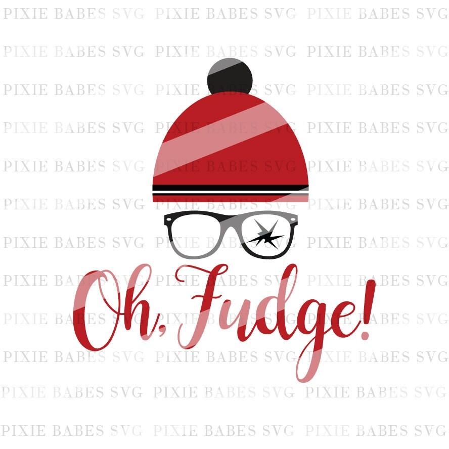 A Christmas Story SVG Oh Fudge SVG Filthy Animal svg