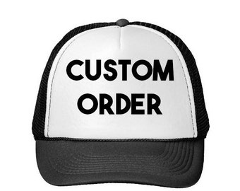 Custom Hat- Custom Trucker Hat- Customized Hats- Custom Trucker Hats- Hats- Trucker Hats- Trucker Hat- Bachelorette Hats- Bride Hats- Custom