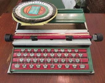 Simplex Toy typewriter