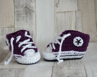 Baby Shoes Sneakers - purple