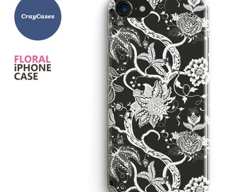floral iphone case, Floral iPhone 7 Case, Floral iPhone 6s Case, Floral iPhone 6 Case, Floral iPhone 7 Plus Case (Ships From UK)