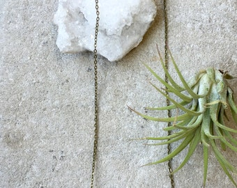 Raw Clear Quartz Necklace, Clear Quartz Crystal Necklace, Boho Necklace, Clear Quartz Necklace