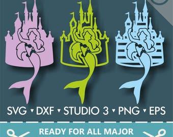 70% OFF SALE Disney Castle Svg, Disney Svg, Ariel svg, Princess svg, Disney Monogram Svg, Princess Castle Svg, Cut Files SVG
