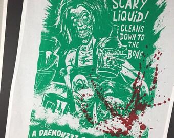 Zombie Tea Towels/Dish towels!