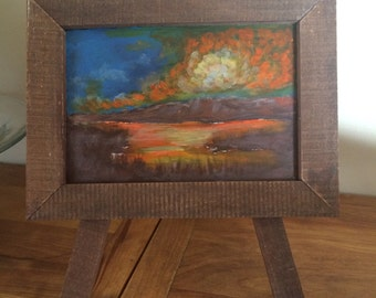 Fall Sunset - Table Art Collection