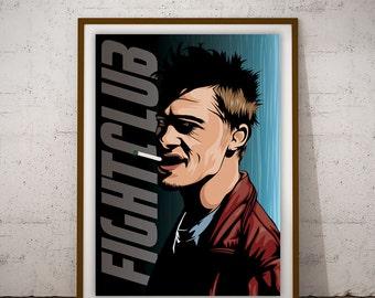 Tyler Durden - FIght Club Poster