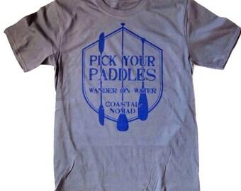 Coastal Nomad Pick your Paddles t-shirt