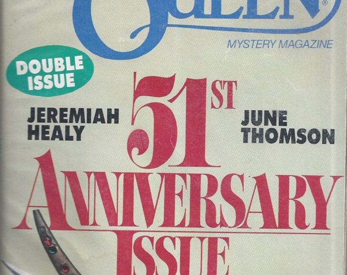 Ellery Queen's MARCH 1992 Mystery Magazine