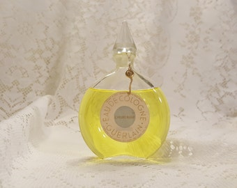 """Vintage Guerlain L'Heure Bleue Watch Bottle Factice Dummy 6"""" Tall 3oz Vintage Perfume Bottle, Antique Perfume Bottle"""