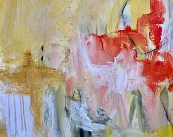 Original Abstract Art on paper, modern decor, contemporary art