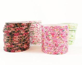 Floral Skinny Washi Tape
