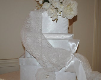 wedding reception card box