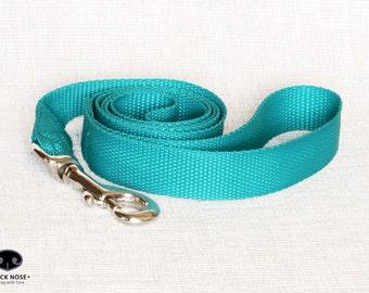 "Custom Dog Leash, Soft Webbing Dog Leash, Fixed Dog Leash, PP Dog Leash, Dog Lead, Wide 1"" 25 mm"
