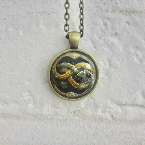 Auryn never ending story necklace pendant nerverending mozeypictures Choice Image
