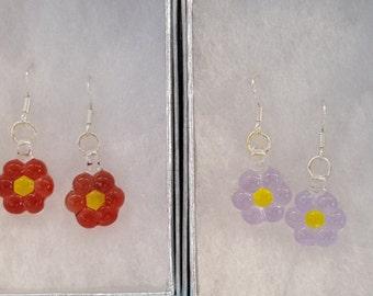 Handmade Glass Earings