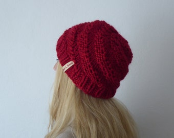 Beanie, + colors, handknit, chunky knit, winteraccessoires, spiral knit, winter hat