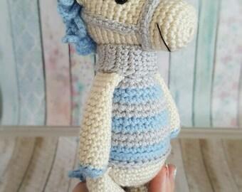 Baby Crochet Toy, Amigurumi Toy, Crochet Animal, Crochet Little Horsey, Amigurumi Animal