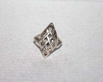 Sterling silver Ring, Silver ring, Endless knot ring, Boho ring, Tribal Ring, Gypsy Ring, Eternal Knot ring, Yoga ring, 925 sterling silver