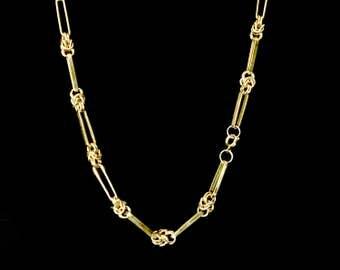 70's Love Knot Chain Necklace         GJ2582