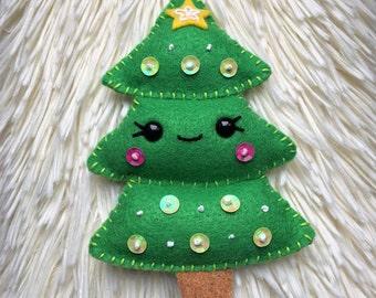 Felt Christmas Tree Christmas Ornament