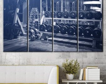 Gym Wall Art, Powerlifting Sports Motivational Wall Art, Sports decor, Motivational art, Sports room art, Gym art home, Fitness artwork