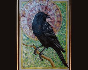 Raven - original artwork