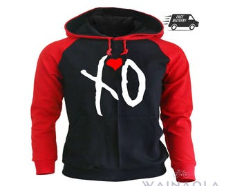 The Weeknd XO Hoodie, The Weeknd Shirt, Starboy Shirts, The Weeknd Clothing, Starboy Weeknd Hoodie, The Weeknd Hoodie, XO Hoodie
