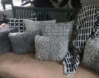 Small Gotland Sheepskin Pillow