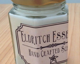 Eldritch Essences Hex Jar Scented Candle *Beyond The Mountains*