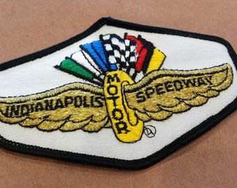 Free US Shipping / 1970s Vintage Indianapolis Motor Speedway / Racing / Nascar / Indy 500 / race capital / gifts for him / gifts for her