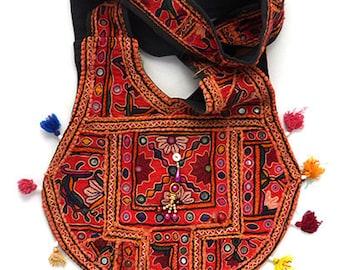 Vintage Boho Bag Hippie Gypsy Indian Banjara Style Shoulder Crossbody Bag