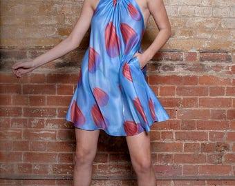 Toulip Bamboo Silk Halter Dress