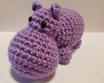 Hippo / Hippopotamus Amigurumi