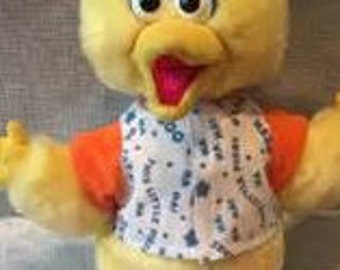Tyco Vintage Playtime Big Bird Toy in original package