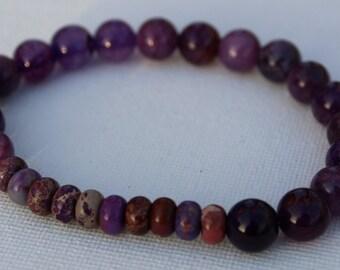 Imperial Dyed Purple Bracelet
