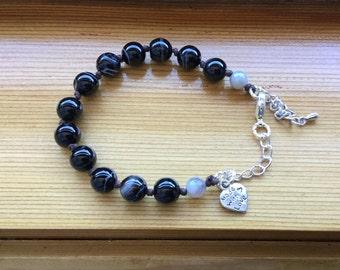 Banded Agate Bracelet