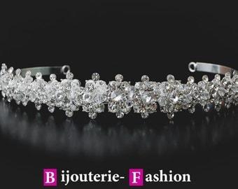 Diamond, Crystal Crown,Bridal Tiara,Swarovski Crystal,Wedding tiara,Crown,Czech stones,accessory,royal diadem