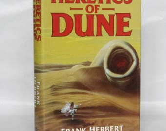 Heretics of Dune. Frank Herbert.