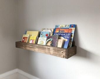 Rustic Wood Book Shelves, Wood Shelves, Rustic Shelves, Book Shelf, Bedroom  Shelf Part 89