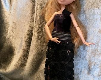 Ever after - evening dress extraordinary black DAHLIA