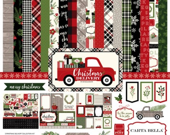 Christmas Delivery Collection Kit - Carta Bella Paper