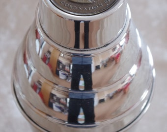 extremly rare Cocktail Shaker - Great Britain - QUEEN - Martini Shaker - Barware - Design