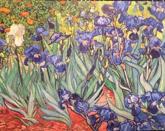 Vincent Van Gogh Iris Magnet 3X5