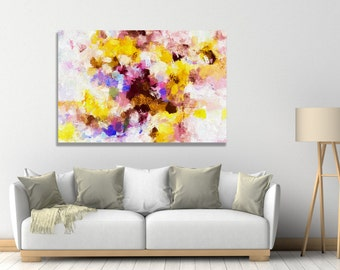 Modern Abstract Painting, Giclee Print of Abstract Oil Painting, Abstract Wall Art, Abstract Art Print for Wall Decor, Contemporary Art