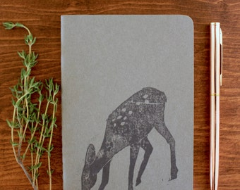 Deer notebook | journal | sketchbook